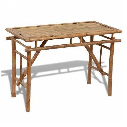 Elior Składany bambusowy stół ogrodowy eventer