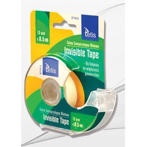 Tetis Taśma invisible 19mm x 8,5mm bt100-b (5906858027655)