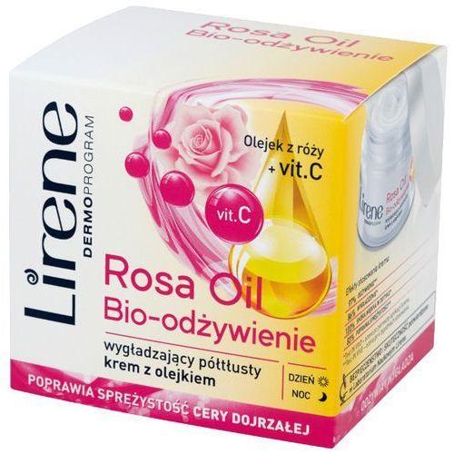 Lirene Essential Oils Rose odżywczy krem wygładzający do skóry dojrzałej (Rose Oil + Vitamin C) 50 ml (5900717723719)