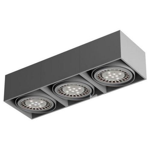 Lampa sufitowa tuz x3sd led111, t019x3sd+ marki Cleoni
