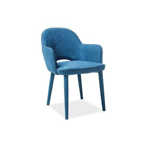 Krzesło metalowe SIGNAL ROBIN granatowy LOFT Styczniowa Promocja!