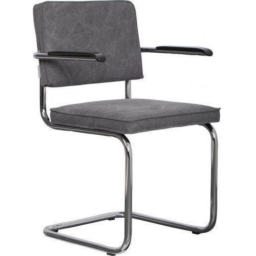 Zuiver krzesło ridge brushed vintage szare 1100115