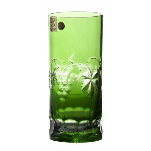 143662 szklanka winogrona, kolor zielony, objętość 350 ml marki Caesar crystal