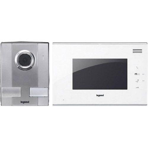 Legrand Wideodomofon  369200, kompletny zestaw, interkom drzwiowy z wideo, dom jednorodzinny (3245063692008)