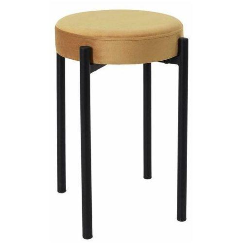 Intesi Selma żółty stołek (5902385751827)