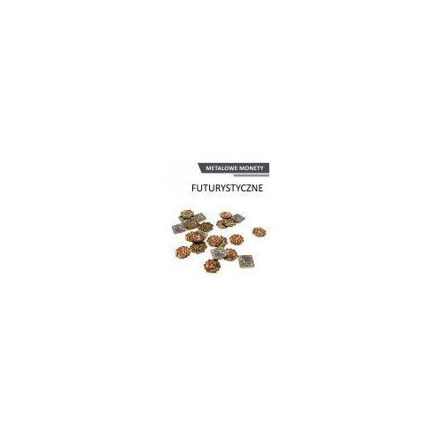 Metalowe monety - futurystyczne (zestaw 24 monet) marki Drawlab entertainment