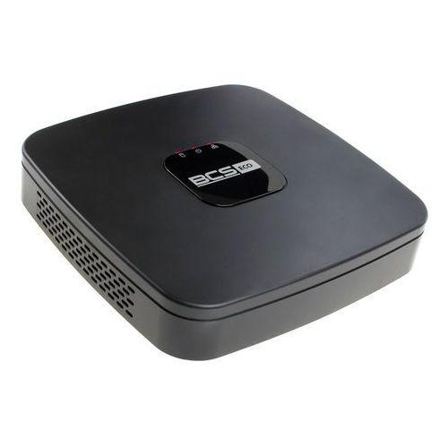 Rejestrator cyfrowy hybrydowy HDCVI/AHD/CVBS/TVI/IP Sieciowy BCS-XVR0801E-II