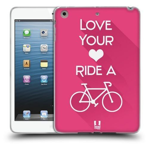 Head case Etui silikonowe na tablet - workout inspirations pink bike