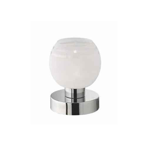 rl ahoi r59411101 lampka stołowa lampa 1x28w g9 chrom / biały marki Trio