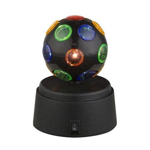 Globo 28017 - led lampa dekoracyjna disco 1xled/0,06w/3xaa (9007371340460)