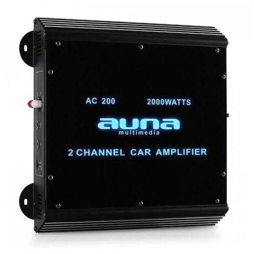Auna 2-kanałowy wzmacniacz samochodowy 2000w akryl (4260236115015)
