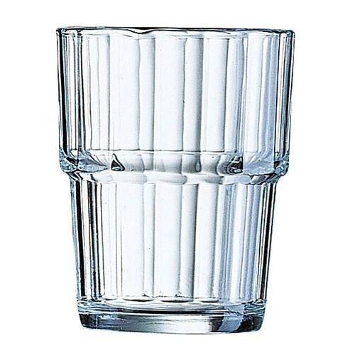 szklanka niska arcoroc norvege ø77x(h)94 250 ml (6 sztuk) - kod product id marki Hendi