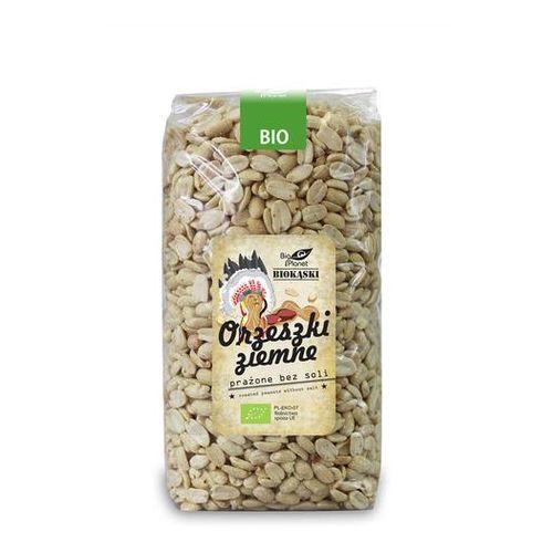 Orzeszki ziemne prażone bez soli bio 1 kg - bio planet, marki Bio planet - seria biokąski (przekąski)