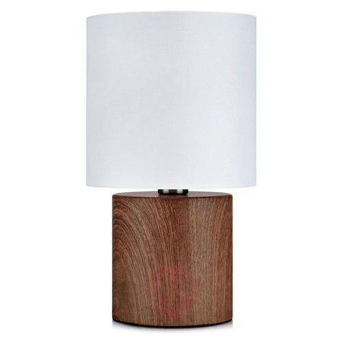 Lampa stołowa gothia drewno nadruk/biały 106439 - - mega rabat w koszyku negocjuj cenę online! / rabat dla zalogowanych klientów / darmowa dostawa od 300 zł / zamów przez telefon 530 482 072 marki Markslojd