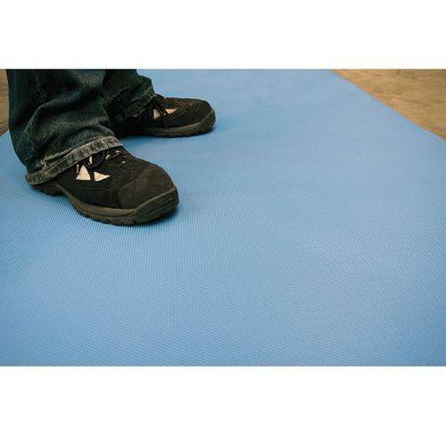 Wykładzina podłogowa, szer. 1200 mm, niebieska, na mb. uniwersalna wykładzina po marki Coba plastics