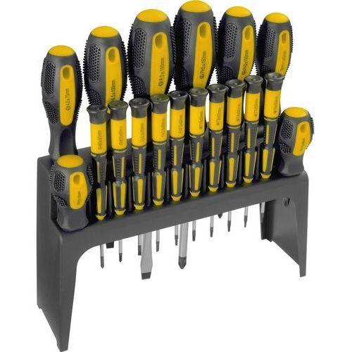 Zestaw śrubokrętów FIELDMANN FDS 5003-18R z podstawką (18 elementów)