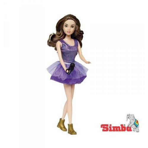 Simba gold violetta śpiewająca w fioletowej sukni