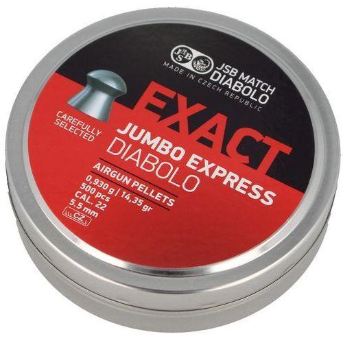 Śrut exact jumbo express 5.52mm 500szt (546277-500) marki Jsb