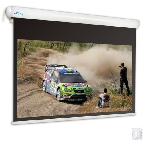 Ekran elektryczny 240x180cm Stratus 2 24/18 - Matt Grey - produkt z kategorii- Ekrany projekcyjne