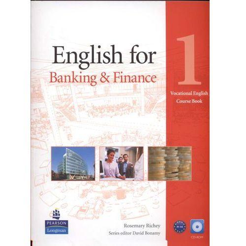 Vocational English: English for Banking and Finance, Level 1, Coursebook (podręcznik) plus CD-ROM, oprawa miękka