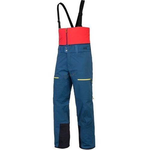 Spodnie narciarskie męskie Antelao Cordura PTX 3L Salewa (granatowe), kolor niebieski