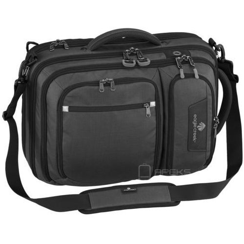 "Eagle Creek Convertabrief torba na ramię / plecak na laptop 17"" / Black, kolor czarny"