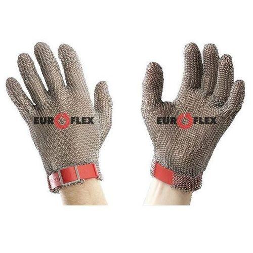 Rękawica ochronna standard, 5-palcowa, nierdzewna, czerwona, rozmiar 8, size m, hs152 marki Euroflex