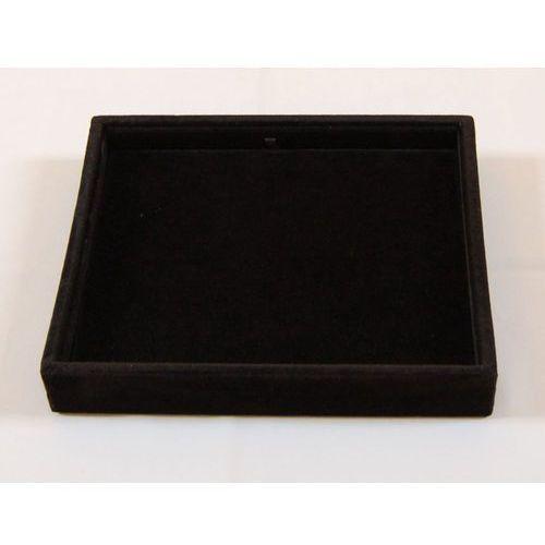 Tacka mała (2 kolory) do prezentacji np. biżuterii - zamszowa, gładka, 01197