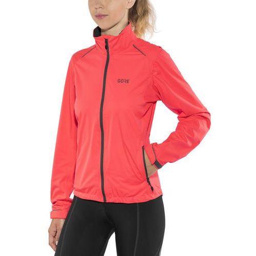 Gore wear c3 gore-tex active kurtka kobiety pomarańczowy 42 2018 kurtki szosowe