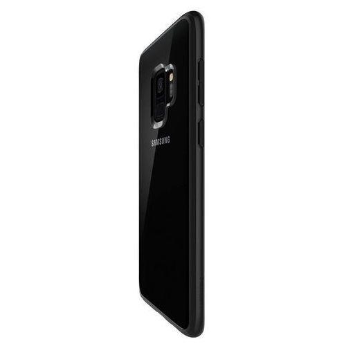 Etui Spigen Ultra hybrid Samsung Galaxy S9 Matte Black, kolor czarny