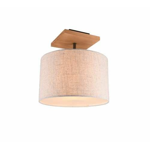 Trio Elmau 602100130 plafon lampa sufitowa 1x40W E27 niklowy/biały (4017807491500)