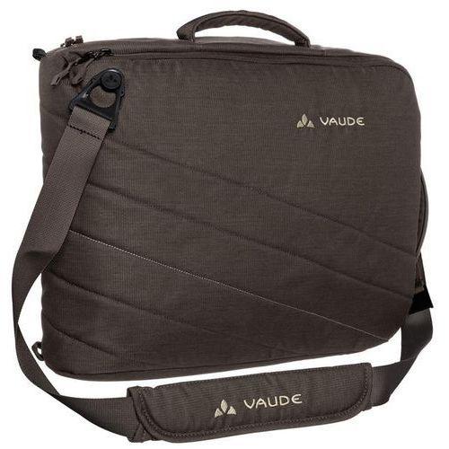Torba - plecak na laptop  petronio - kawowy - brązowy marki Vaude
