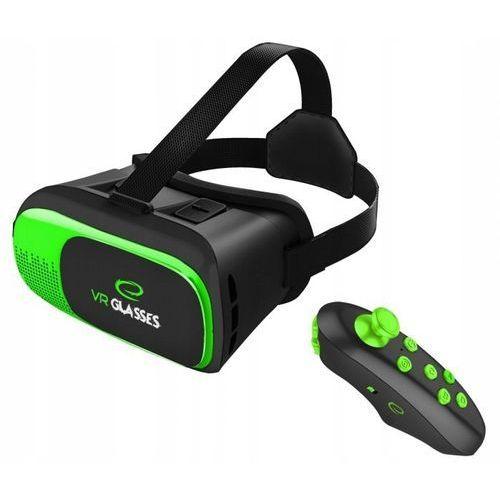 OKULARY GOGLE 3D VR + PILOT BLUETOOTH (5901299939284)