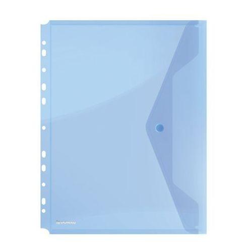 Teczka na zatrzask wpinana - niebieska marki Donau