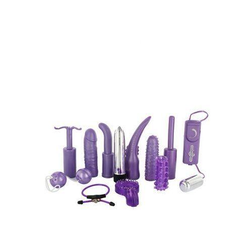 Zestaw zabawek erotycznych fioletowy   100% dyskrecji   bezpieczne zakupy marki Sevencreations