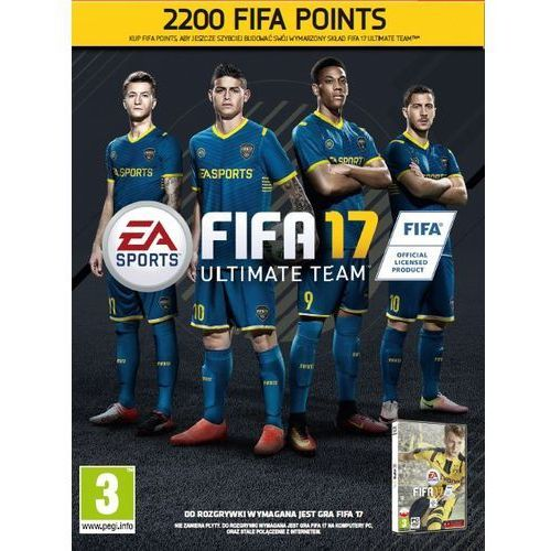 Gra PC FIFA 17 - 2200 Punktów CIAB (5030936122069)
