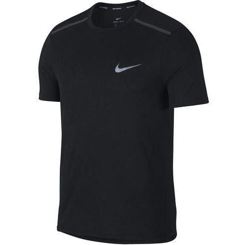 Nike t-shirt męski m nk tailwind top ss, black xxl