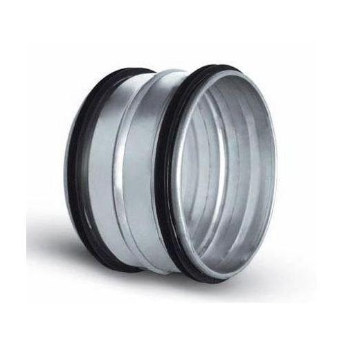Elementy okrągłe z uszczelką Nypel - złączka nyplowa z uszczelką ocynkowana nsl dn 125