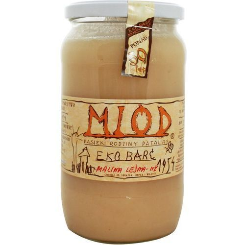 Miód malina leśna BIO 1kg- Eko Barć (Patalas) (5907814666482)