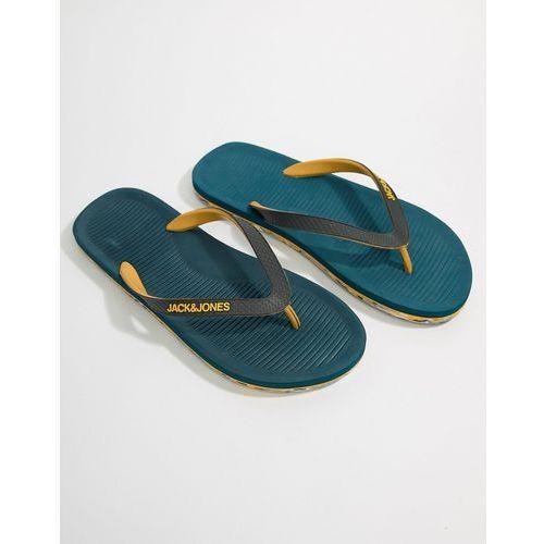 flip flops with moulded sole - blue, Jack & jones
