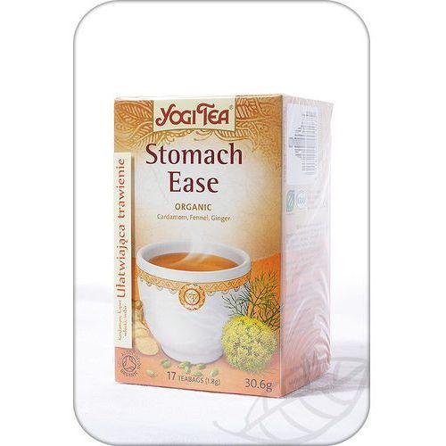 Yogi tea : herbata ułatwiająca trawienie stomach ease bio - 17 szt.