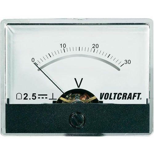 Analogowy wskaźnik panelowy VOLTCRAFT AM-60X46/30V/DC, AM-60X46/30V/DC
