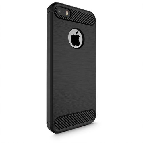 TECH-PROTECT TPUCarbon Black | Obudowa dla Apple iPhone 5S / SE