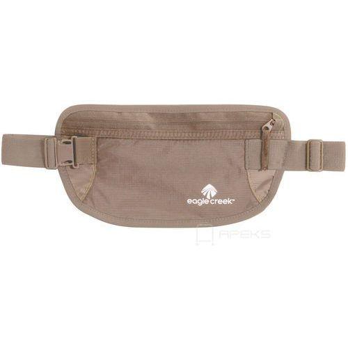 undercover money belt saszetka podróżna biodrowa / etui podróżne / beżowa - khaki marki Eagle creek