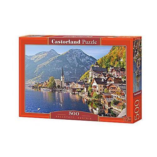 Puzzle 500 hallstatt, austria  marki Castor