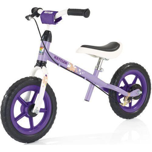 """Kettler rowerek biegowy speedy 12.5"""" pablo-violet - fioletowo-biało-czarny   fioletowy   czerwony (2010000499269)"""