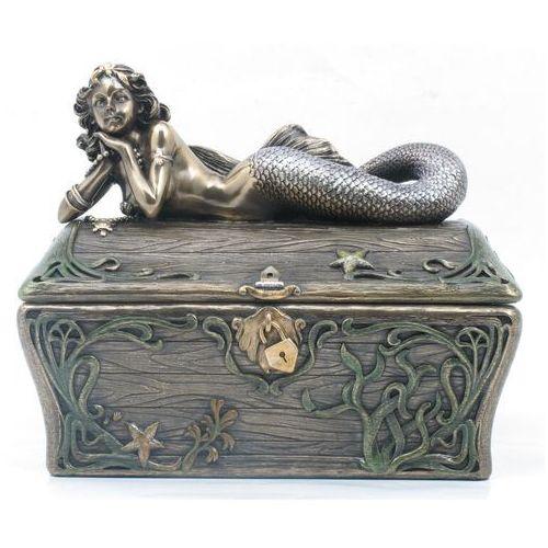 Veronese Secesyjna szkatułka z syreną (an10411a4)