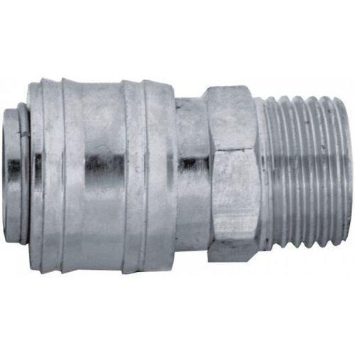 Szybkozłączka PANSAM A535303 gniazdo gwint zewnętrzny żeńska 1/4 cala - produkt z kategorii- Pozostałe akcesoria do narzędzi