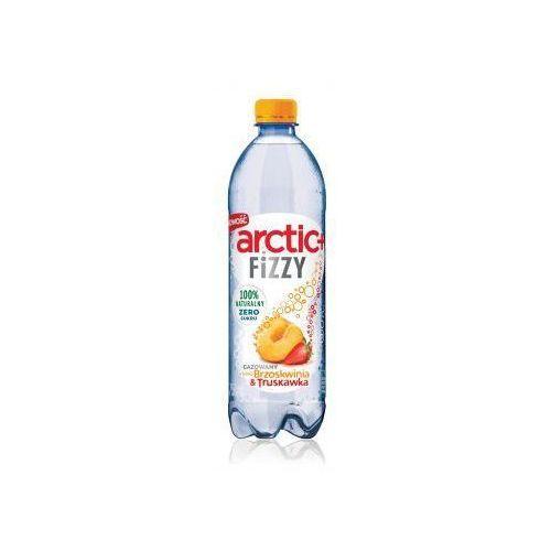 Napój gazowany Arctic+ Fizzy o smaku brzoskwinia & truskawka 750 ml