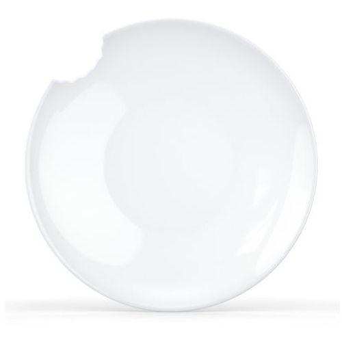 - talerz głęboki Ø 24 cm - biały błyszczący - 2 szt marki 58products